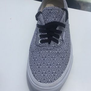 Triangle Patterned Vans